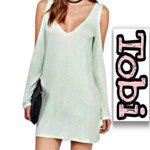 Tobi | Women's Cold Shoulder Shift Dress NWT SZ S